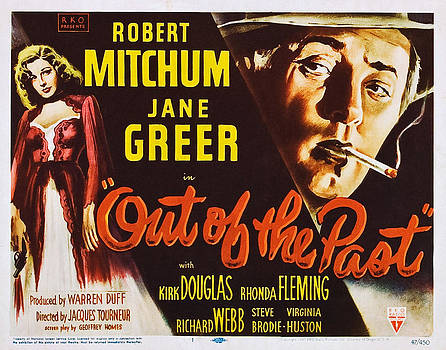 Out Of The Past, Left Jane Greer, Top by Everett