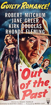 Out Of The Past, Top Left Jane Greer by Everett