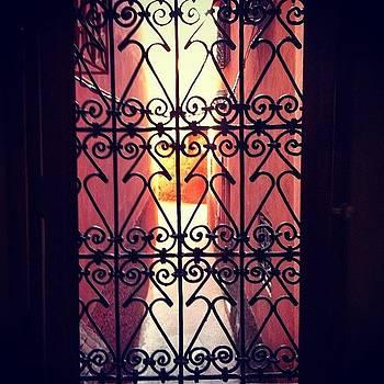 Out The Bathroom Window #marrakech by Sarah Dawson