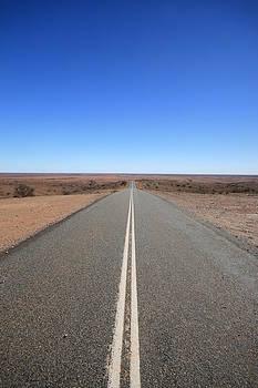 Outback Road Australia by Carl Koenig