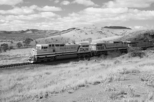 Outback Train by Carl Koenig