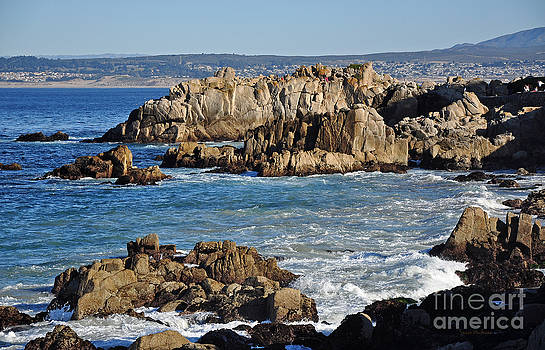 Susan Wiedmann - Outcroppings at Monterey Bay