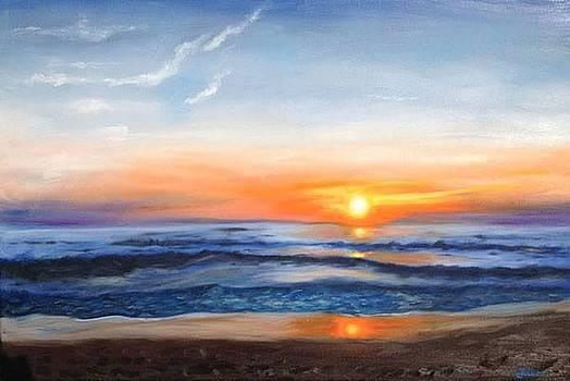 Outer Banks Sunrise by Billie Mann