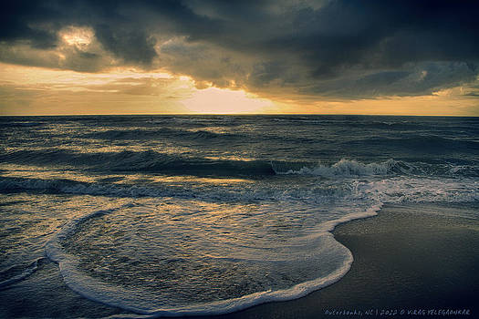 Outerbanks Seascape by Virag Yelegaonkar