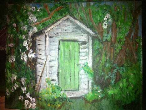 Outhouse Greenery by Ginger Bear