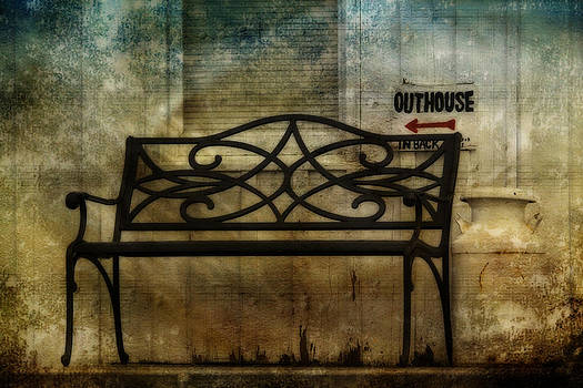 Outhouse-In Back by David Simons