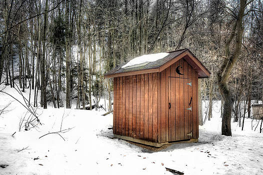 Outhouse Saugatuck Dunes by Jenny Ellen Photography