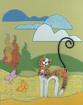 Outside Cat by Barbara Lightner