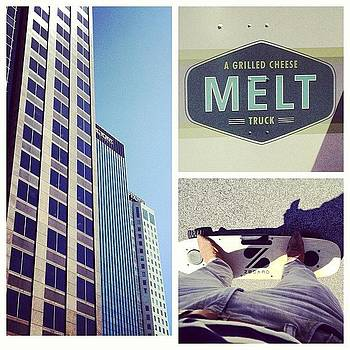 Outside Lunch At @meltbham . @zboard by Trey Jackson