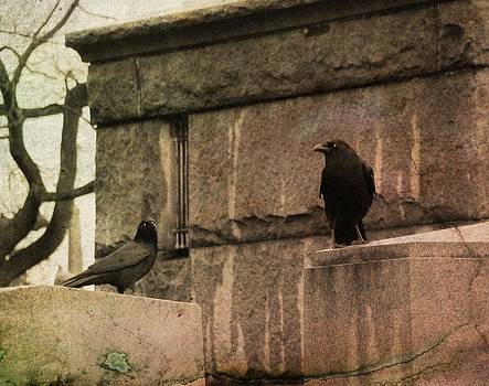 Gothicrow Images - Outside The Old Mausoleum