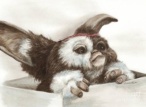 Outta the box - Gizmo  by Meagan  Visser