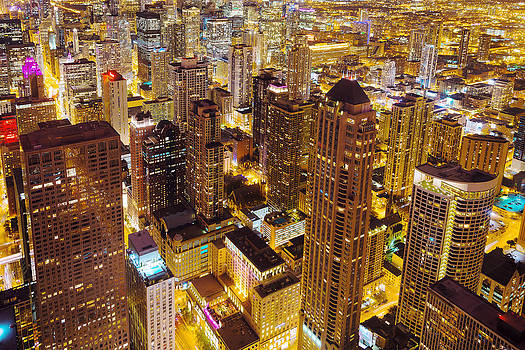 Over Chicago by Joel Olives
