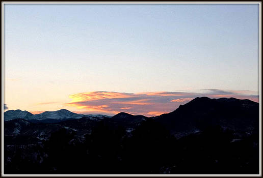 Over Lookout Mountain Golden Colorado by Misty Herrick
