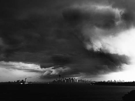 over Manhattan  by Mayumi Yoshimaru