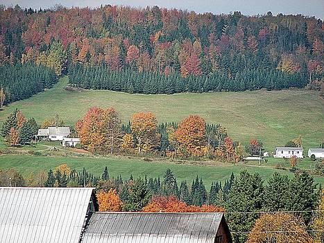 Over the Barn by Jeanne LeMieux