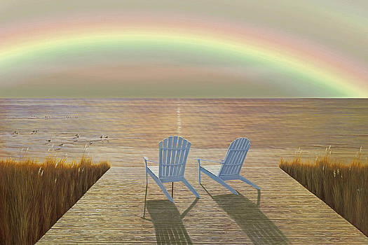 Over The Raibow by Diane Romanello