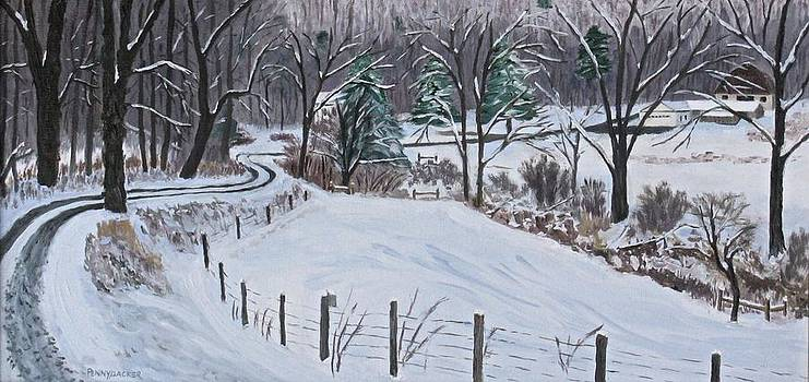 Over the river and through the woods... by Barb Pennypacker