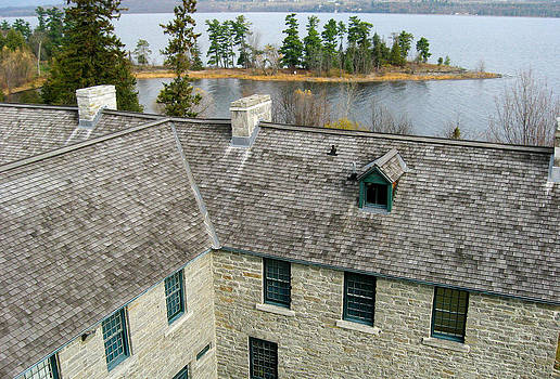 Over the Roof - Pinhey's Point Ontario by Rob Huntley