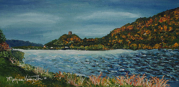 Overcast at Lake Winona by Monica Veraguth