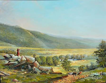 Overlooking Bouge by Jeffrey Samuels