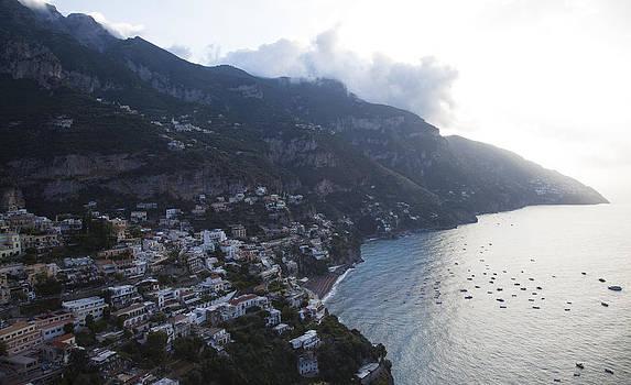 Overlooking Positano by Denise Rafkind