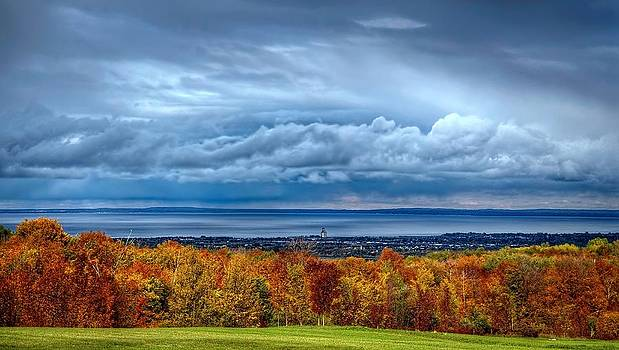 Overlooking the bay by Jeff S PhotoArt