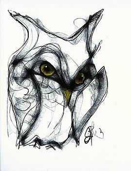 Jon Baldwin  Art - Owl Eyes