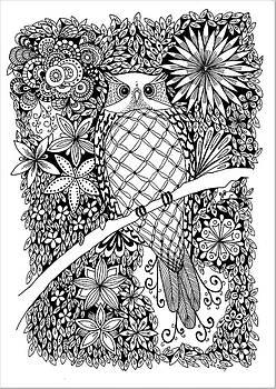 Owl by Lissi Lyngsoe