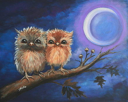 Owl Be There for You by Agata Lindquist