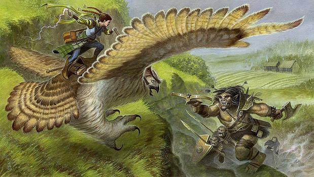 Owl Rider by Jeremy McHugh