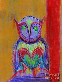 Owl Understand by Loyda Herrera