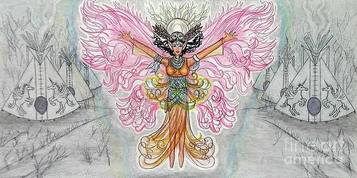 Owl Woman Fairy by Joyce Jackson