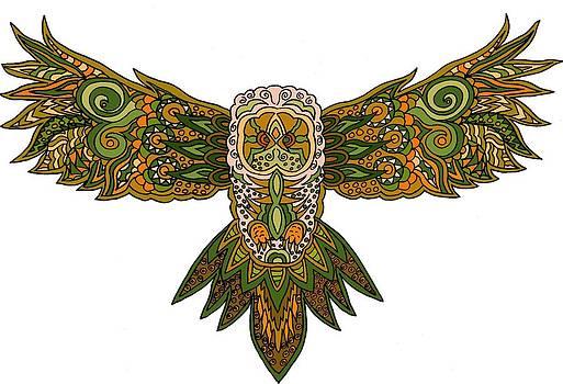 Owl Yellow by Karen Elzinga