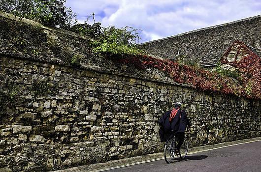 Oxford Bicyclist by Joanna Madloch