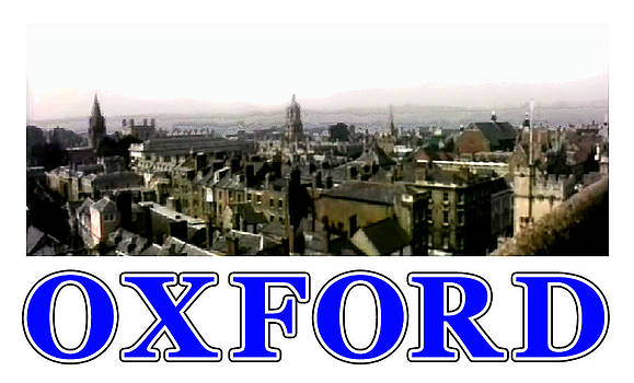 Oxford snapshot Panorama Rooftops 2 jGibney The MUSEUM Zazzle Gifts by The MUSEUM Artist Series jGibney