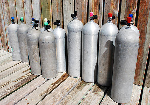 Ramunas Bruzas - Oxygen Cylinders