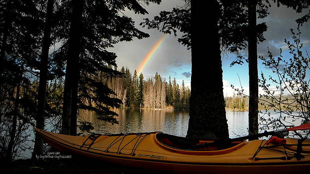 Guy Hoffman - Oyama Lake - Kayaking