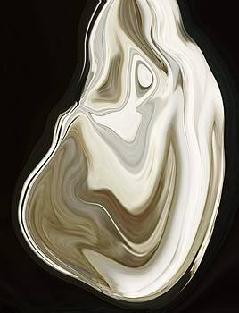 Oyster Shell No 3 by Chad Miller
