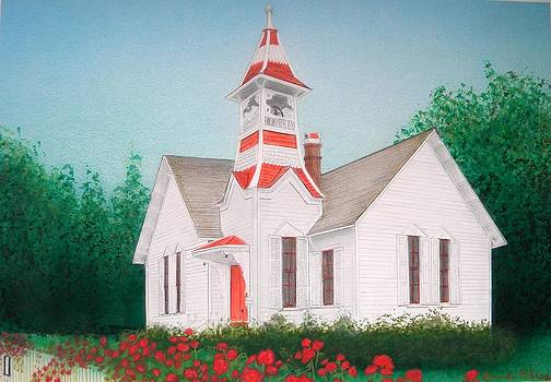 Oysterville Church by Brenda Bliss