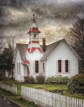 Oysterville Church by Rod Stroh