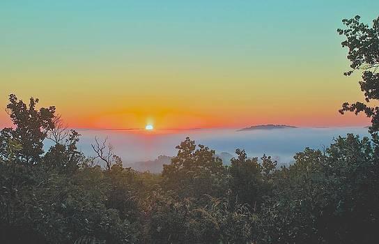 Ozark Sunrise by Larry Bodinson