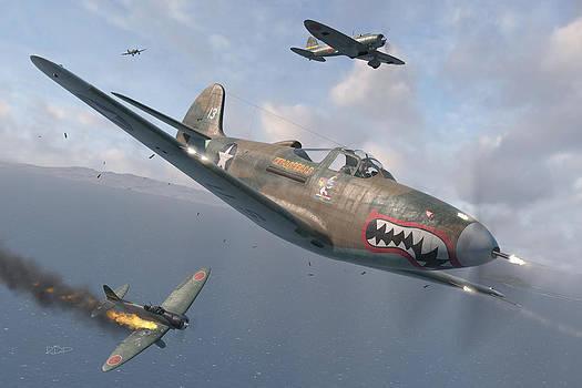 P-400 Hells Bells by Robert Perry