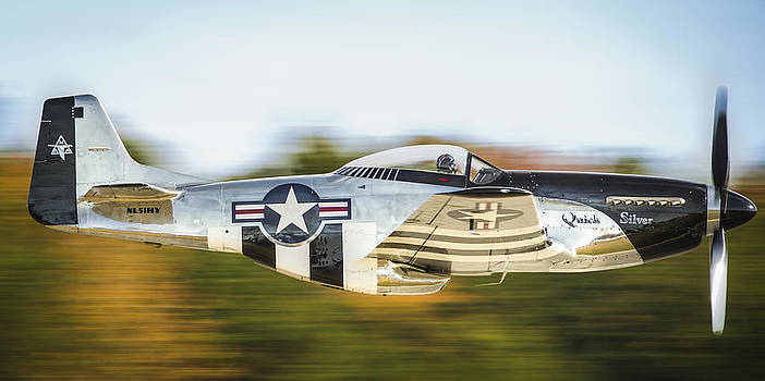 P-51 Mustang Flyby by Brian Young