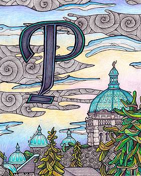 P is for Parliament Buildings by Amy Frank