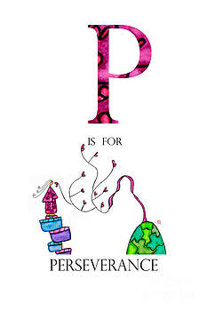 P is for Perseverance by Emily Lupita Studio