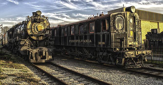PA Railroad Museum Locomotives by Brian R Tolbert