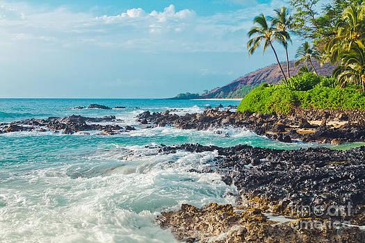 Paako Beach Blue Sensation by Sharon Mau