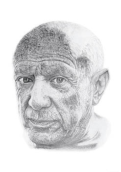 Pablo Picasso by Chris Greenwood
