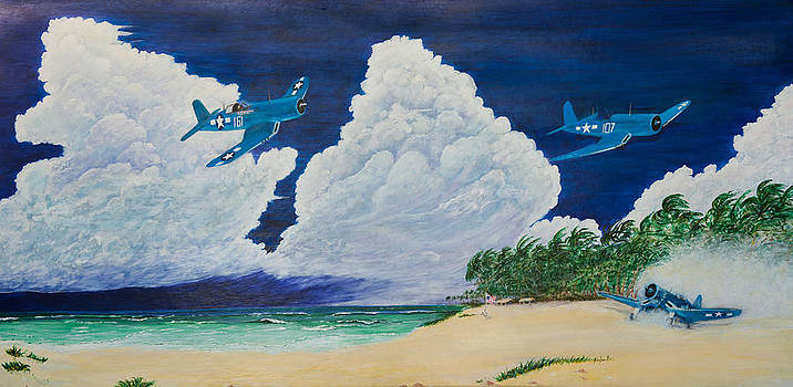 Pacific Flight by Kendrew Lascelles