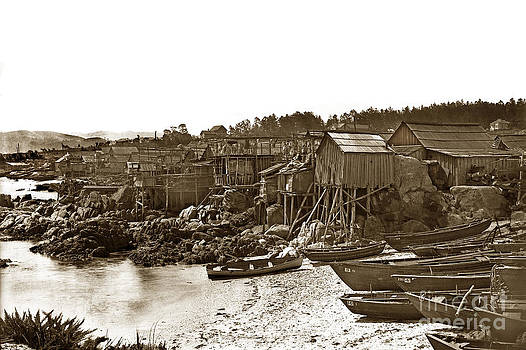 California Views Mr Pat Hathaway Archives - Pacific Grove Chinatown fishing settlement that burned down in May of 1906